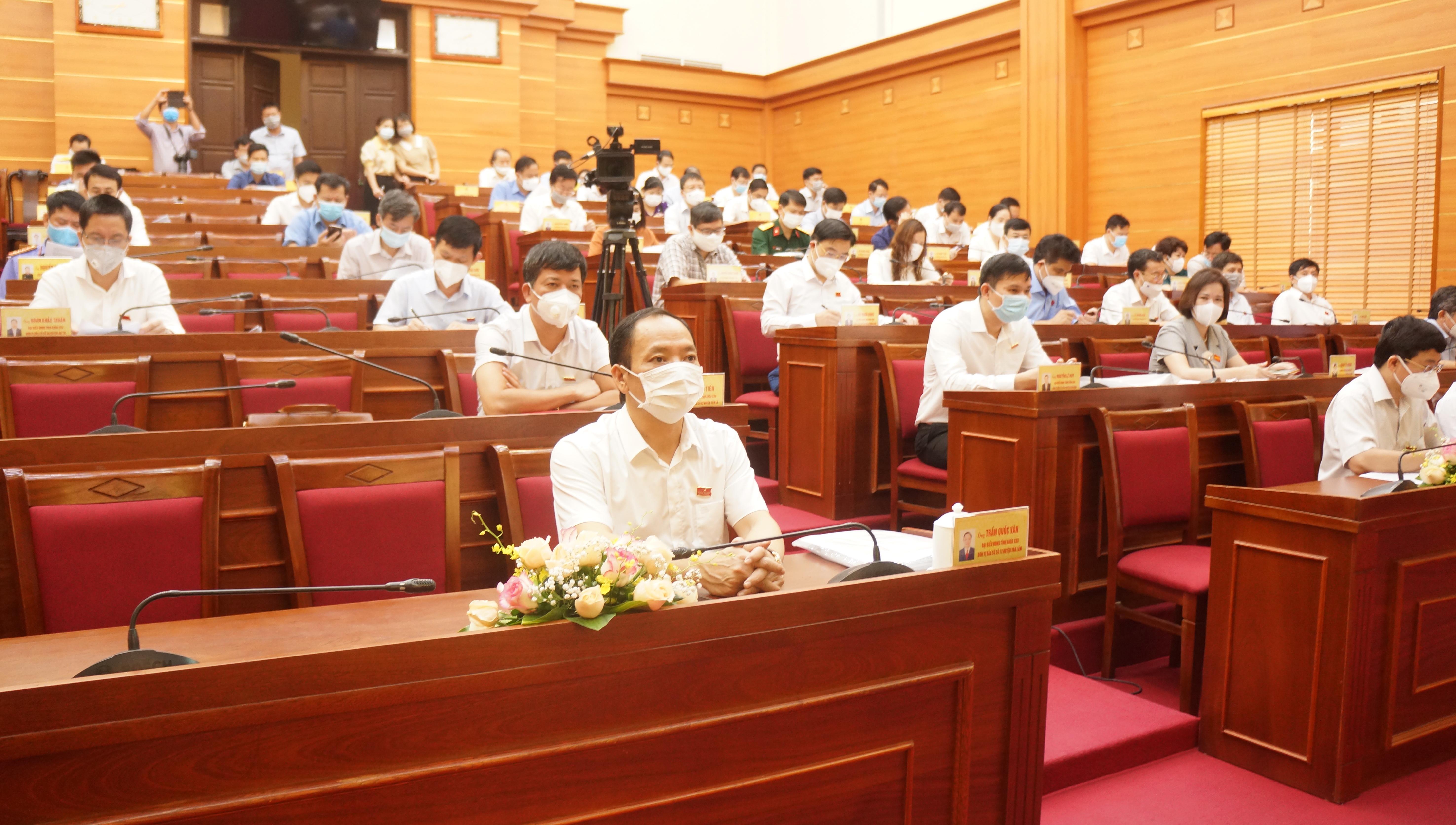 Hội đồng nhân dân tỉnh Hưng Yên khóa XVII tổ chức Kỳ họp thứ Ba